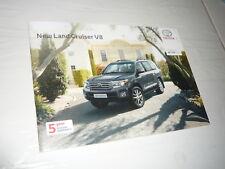 Toyota Land Cruiser V8 Brochure 4x4 SUV Diesel 48 pages 2012 off road n Hilux 3