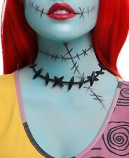 Disney The Nightmare Before Christmas Costume Sally Stitches Choker Necklace