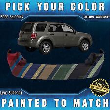 New Painted to Match - Rear Bumper Cover Replacement for 2008-2012 Ford Escape