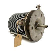 Antique Radio Part - Thordarson Variable Condenser - Pat. Pend.