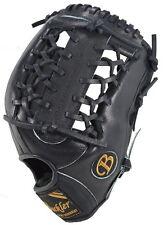 "Fame Buckler baseball glove, F1275B 12.75"" RHT Outfield Black"