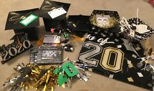 Huge Lot Graduation Party Decorations 2020 Card Box Picture Frames Banners Table