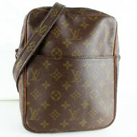 LOUIS VUITTON PETIT MARCEAU Shoulder Bag Purse Monogram M40264 Brown