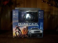 PILOT DUAL CAM SPORTS DASH CAMERA 1.5 HR BATTERY HD VIDEO NIGHT VIEWING CAR CAM