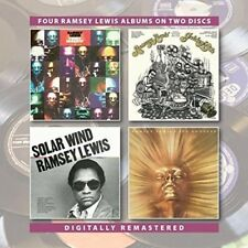 Ramsey Lewis - Funky Serenity/Golden Hits/Solar Wind/Sun Goddess (2018)  2CD NEW