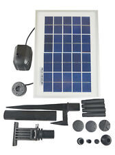 ASC Solar Water Pump Kit 3 Watt with Battery Timer and LED Light