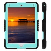 Hybrid Protective Shockproof Rugged Hard Stand Case Cover For iPad 6th 2018 9.7