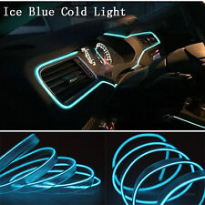 6M 12V Nice Wire Ice Blue Cold light Neon Lamp Atmosphere Unique Decor For Honda