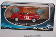 SOLIDO 4577 ALFA ROMEO GUILIETTA SPIDER 1958 1:43