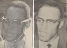 """Joe Tilson """"Malcolm X"""" Screen-Prints (Lichtenstein, Warhol, Modern Art, Pop Art)"""