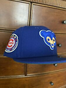 RARE HAT CLUB EXCLUSIVE 7 1/4 CUBS GREEN UV 1962 ASG PATCH