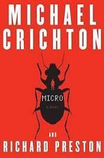 Micro: A Novel, By Crichton, Michael; Preston Richard,in Used but Acceptable con