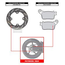 BREMBO REAR DISC (+ BRAKE PADS) - HONDA CBR 1000 RR (06-07) - 68B40749