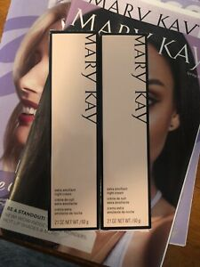 2 FULL SIZE NIB Mary Kay Extra Emollient Night Creams
