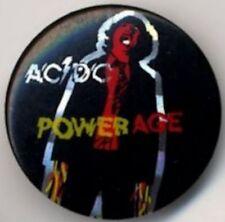 AC/DC 'Powerage' Badge Button