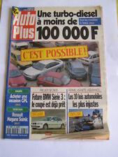 revue auto plus n°467 de 1997: sovra buggy LM1,xantia V6,mercedes C240 aut,....