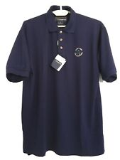 New Cobra Golf Shirts Mens Size L Como Sport Jerry Ford Golf Navy Blue Nwt