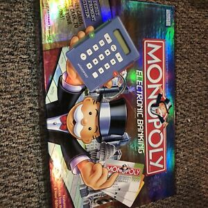 Monopoly Electronic Banking complete tested 2007 modern tokens