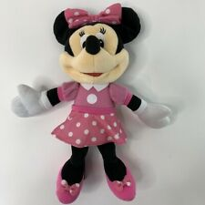 Disney 2010 Minnie Mouse Talking Polka Dot Pink Fisher-Price Plush Stuffed Toy