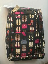 5 CITIES EASY JET CABIN FRIENDLY LIGHT FABRIC WOMEN TRAVEL LUGGAGE HOLIDAY BAG