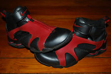 Rare 2003 Men's Nike Shox Stunner Velcro Zip Basketball Shoes (10) 304936-061