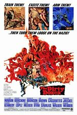 """THE DIRTY DOZEN Movie Poster [Licensed-NEW-USA] 27x40"""" Theater Size"""