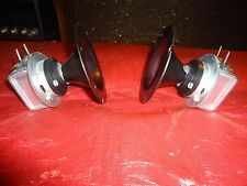 JENSEN / RSC   ALNICO CONICAL HORN TWEETERS  ALL METAL CONSTRUCTION 1960'S ERA