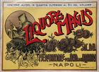Liquori -MAGIS - Società Anonima Meridionale Etichetta- vintage