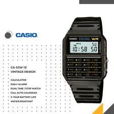 Casio CA-53W-1Z Data Bank Wristwatch - Black