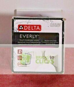 Delta- Everly Single Towel Hook in Brushed Nickel