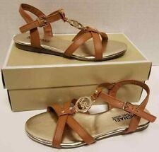 Kids Girls Micheal Kors Demi Sofia Cognac Sandal Size US 2M NIB