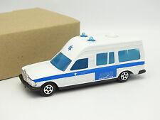 Norev Jet Car 1/43 - Mercedes 300 W123 Ambulance ANWB Alarmcentrale