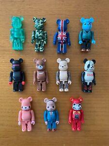 Medicom Bearbrick 100% Series 2 - 11 Figure set including Secret Chase Figures