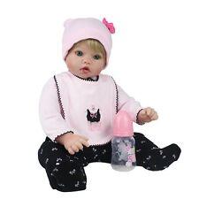 20inch Reborn Baby Dolls Real Life Newborn Vinyl Silicone Boy Doll Birthday Gift
