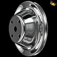 single groove water pump pulley for small block chevy 350 383 400 LWP Chrome