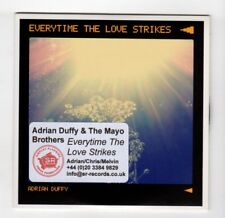 (IB315) Adrian Duffy & The Mayo Brothers, Everytime The Love Strikes- 2012 DJ CD