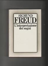 Sigmund Freud L'INTERPRETAZIONE DEI SOGNI cde rigida