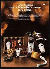 3w1254/ Alte Reklame - von 1974 - TABAC ORIGINAL - Mäurer+Wirtz