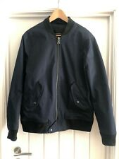 BANANA REPUBLIC Dark Blue Bomber Jacket Water Resistant size M