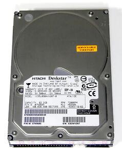 """Deskstar 180GXP (IC35L090AVV207-0) 80GB 7200RPM 2MB Cache 3.5"""" PATA UDMA-100"""