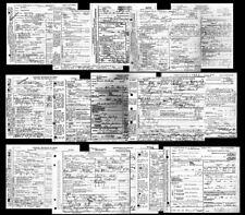 Hatfield-McCoy Feud DEATH CERTIFICATES, 15 Documents, KENTUCKY,West Virginia