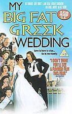 My Big Fat Greek Wedding VHS VIDEO BIG BOX EX RENTAL