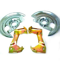 GM A Body Disc Brake Caliper Brackets + Backing Plates Dust Shields