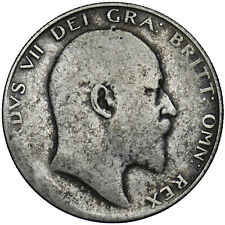 More details for 1904 halfcrown - edward vii british silver coin - scarce