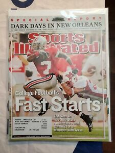 Sports Illustrated Back Issue September 12, 2005 Dark Days In New Orleans