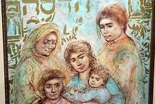 Edna Hibel -Hadassah The Generations - Hand Signed & Numbered ~ 1st Series