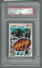 1982 Topps Cello Pack w/ RONNIE LOTT # 486 RC Rookie on top (PSA 9 MINT) (394