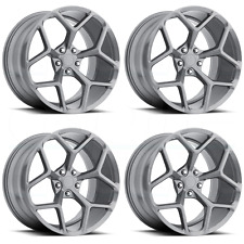 20 Stagger Wheels Tires Chevy Camaro SS Gunmetal Z28 Rims RS SS 20x10 20x11 MRR