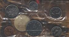 1985 Canada PL Set (6 Coins Cent to $1). MINT UNC.