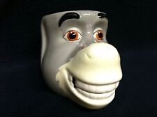 Galerie SHREK Movie 2004 Dreamworks Donkey Gray Large Face 3D Coffee Mug Tea Cup